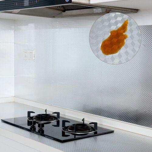 Kitchen Self Adhesive Oil-proof Waterproof Kitchen Stove Cabinet Aluminum Foil