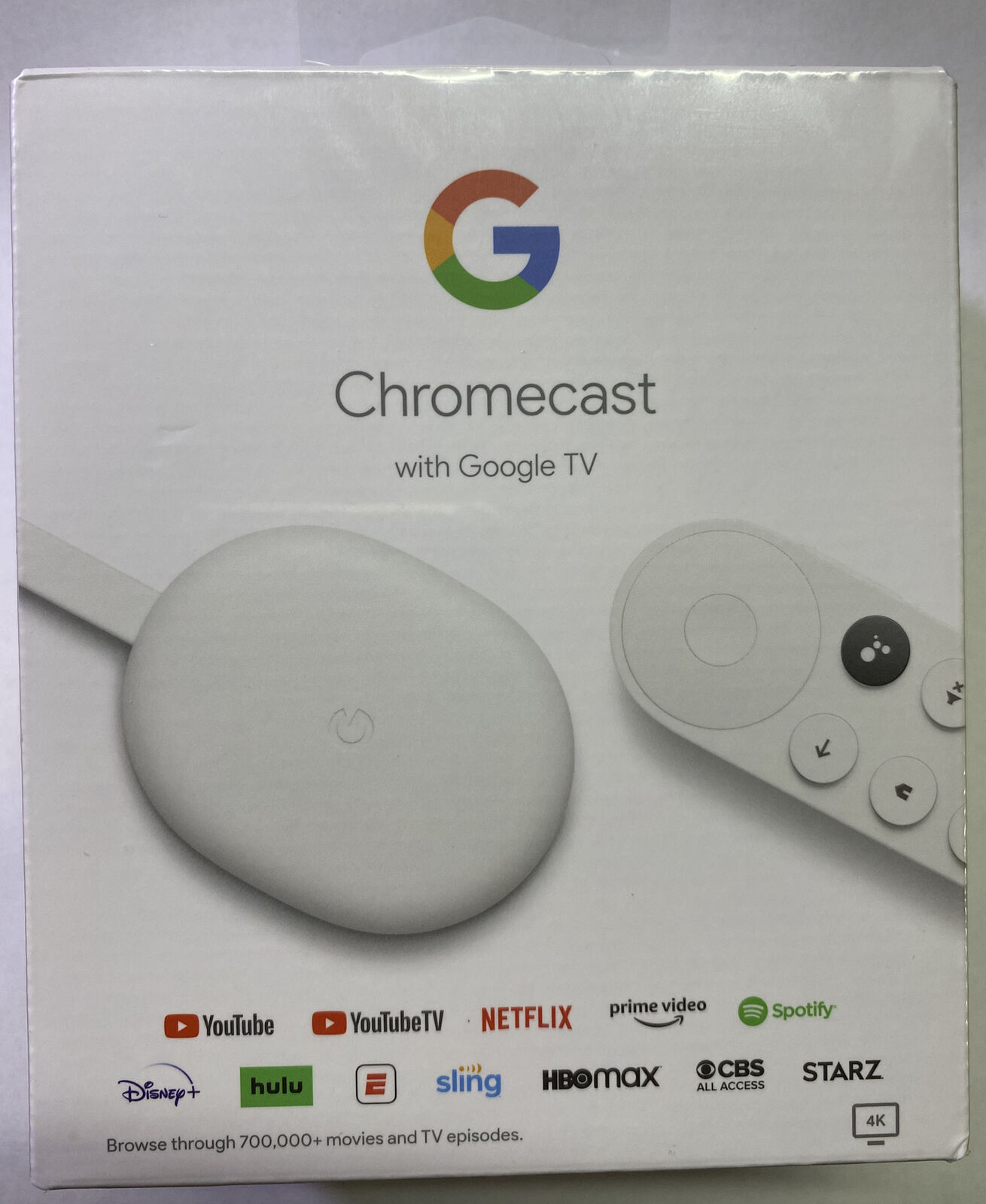 Google Chromecast with Google TV 4K HDR Streaming Media Player Google Assistant assistant chromecast google hdr media player streaming with