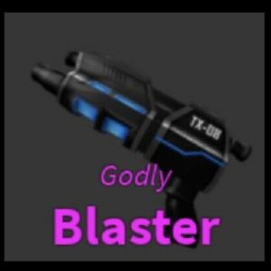 READ-DESCRIPTION-Murder-Mystery-2-Blaster-Gun-ROBLOX-Virtual-Item-GODLY