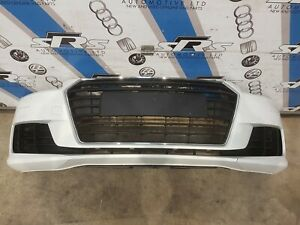 Genuine AUDI TT MK3 Complete Front Bumper & Grill in White 2015-2018 LY9C