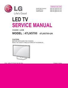 LG-47LN5700-LED-TV-Service-Manual-und-Reparatur-Anleitung