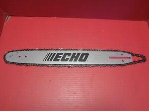 """Echo CS-490 /& CS-501P CS-450 Chainsaw 16/"""" Bar with Chain 16FOLD3366"""