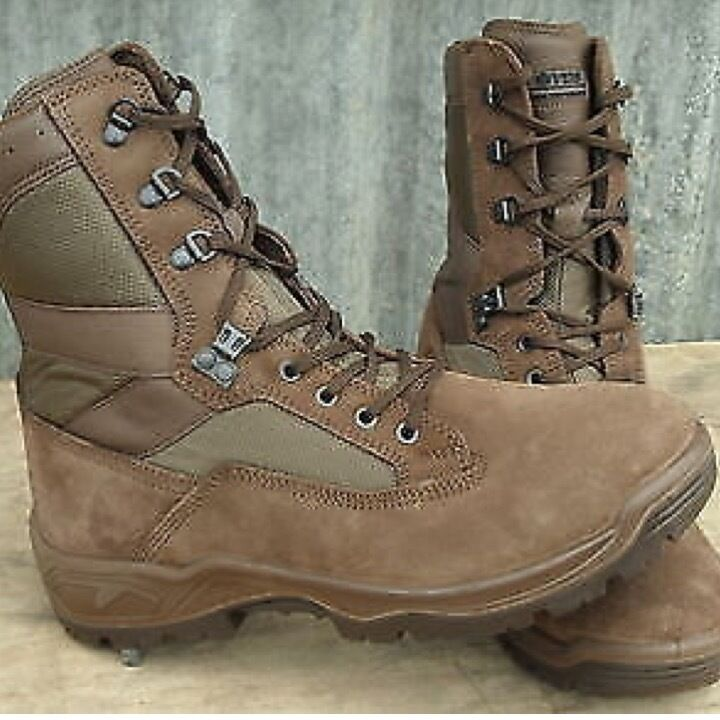 MENS BRITISH ARMY BROWN BOOTS SUEDE YDS FALCON MTP PCS CADET WALKING