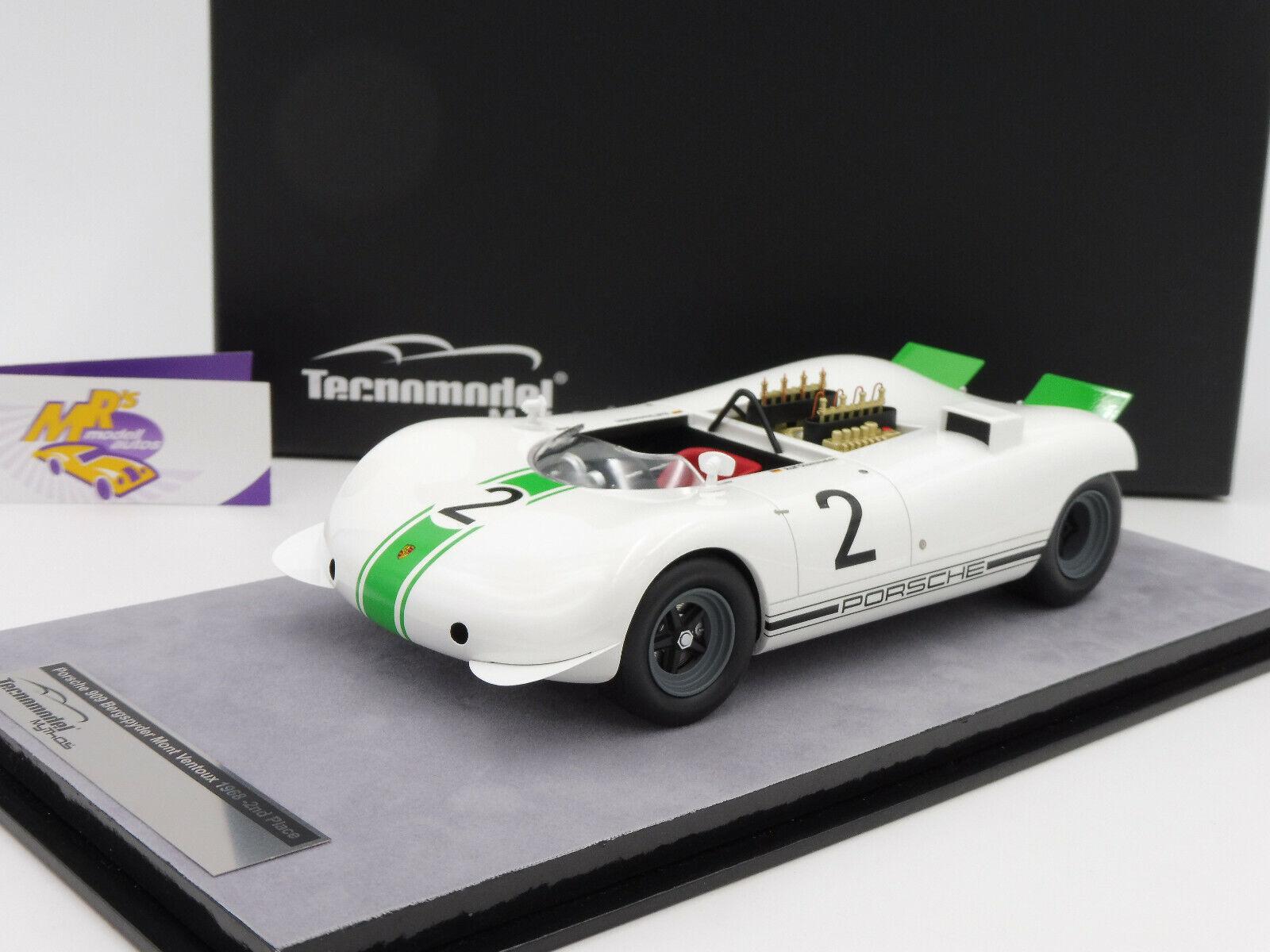Tecnomodel TM18-84C   Porsche 909 Bergspyder Mont Ventoux 1968 R. Stommelen 1 18  | Lebhaft