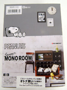 Re-ment PEANUT SNOOPY/'S MONO ROOM Completed Set for dollhouse
