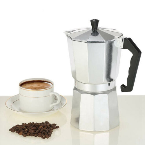 9 Cups Cafetera Cubana Aluminium Stove-Top Coffee Maker Manually Moka Pot  6