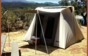 Deluxe Kodiak Canvas Tent 10x10 6 Person. Only The Tent.