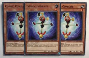1st Edition 3x Cosmic Compass Common Near Mint SDPL-EN019
