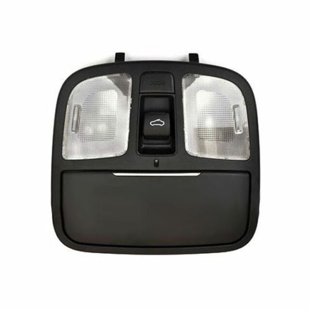 With Sunroof, Gray Overhead Console Lamp for 2007-2010 Hyundai Elantra Sedan