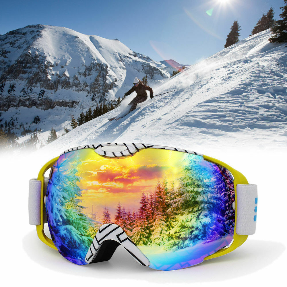 Anti-fog UV Dual Snow Lens Winter Outdoor  Snowboard Ski Goggle Predect Glasses  100% brand new with original quality