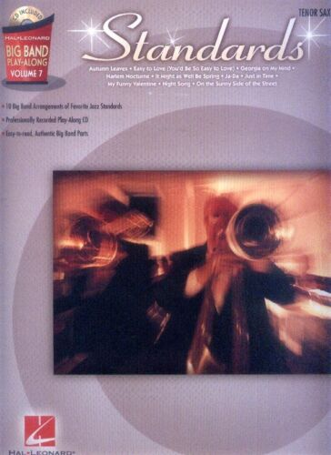 Standards Big Band Play-Along 7 Tenor Sax Saxofon Saxophone Noten mit CD