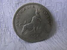 AUSTRALLIEN SILBERMÜNZE 500-ER 1FLORIN 1954