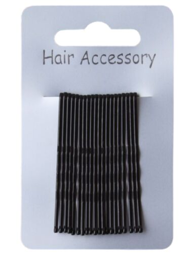 Accessories 20 Coloured Traditional Kirby Hair Grips Slides Clips Pins 4.5cm
