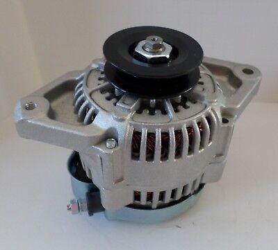 NEW MINI 8162 BLACK 60AMP SMALL//BIG BLOCK CHEVY RACING 1 WIRE ALTERNATOR FITS 93MM 8162