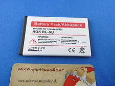 Akku für Nokia 8800E, 8900E, 8900i, ersetzt BL-5U