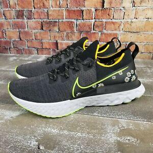 Nike React Infinity Run Flyknit 'Daisy' Running Shoes CW5573-001 Men's 13
