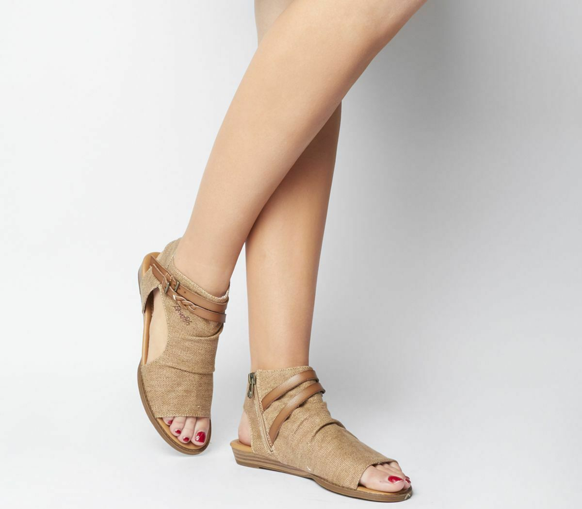 damen Blowfish Malibu Blaumoon Sandals Sahara Wheat Sandals