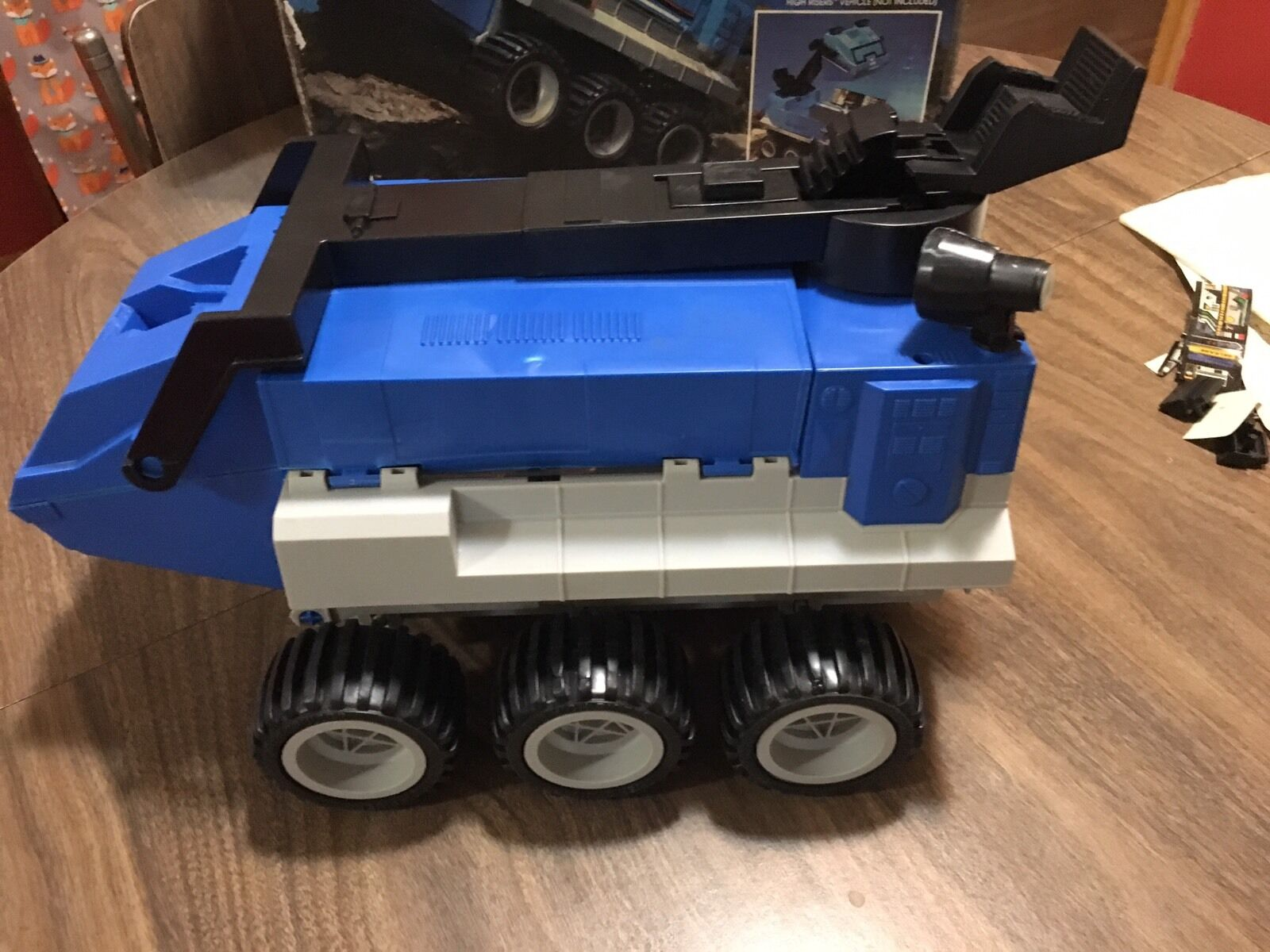 Vintage 1984 1984 1984 CBS Toys High Risers Power Cruiser 6x6 All Terrain Transport Base f2621f