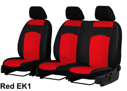RENAULT Master 2010 in poi eco pelle 2+1 su misura seat covers MADE TO MEASURE