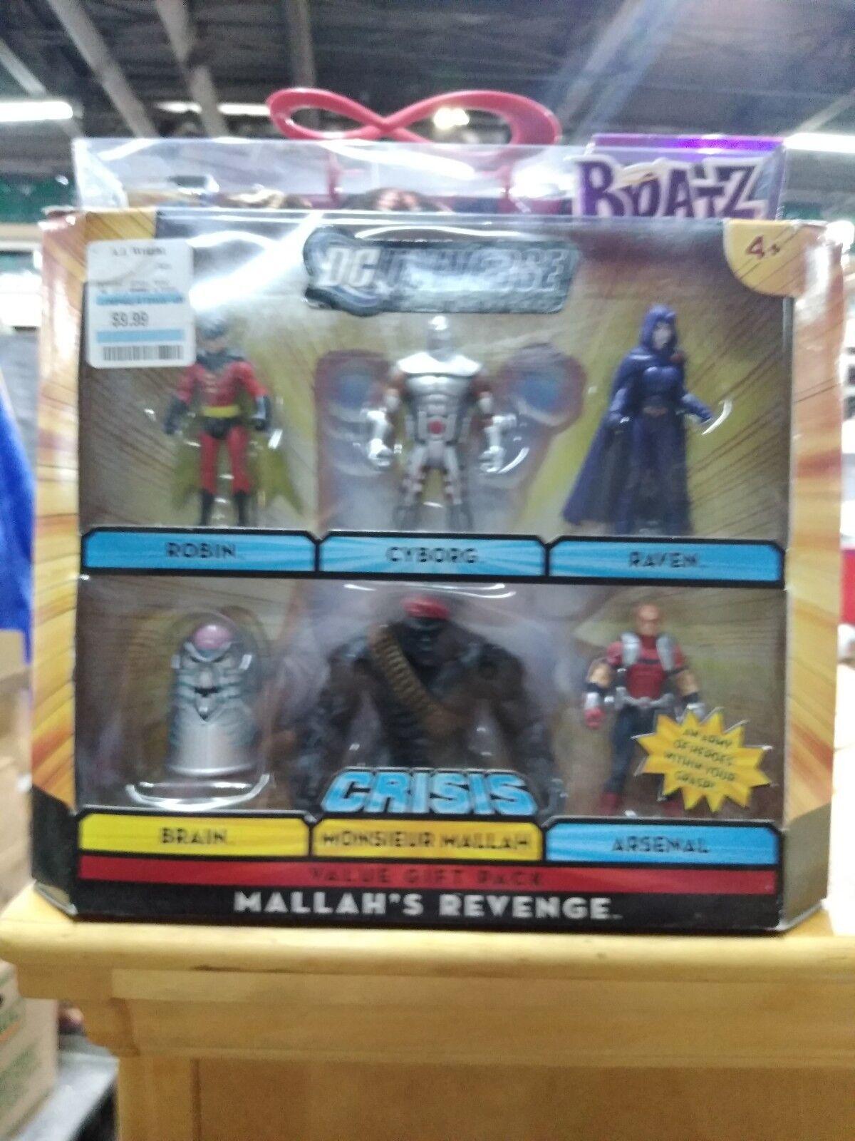 DC Universe Infinite Heroes Raven Mallah's Revenge Robin Cyborg Raven Heroes Teen Titans NIP 5ebac5