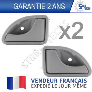 Poignée de porte gauche grise Renault Twingo kangoo neuf+garanti
