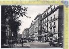 Cartolina - Postcard - Napoli - Corso Umberto e Università - auto d'epoca - '50