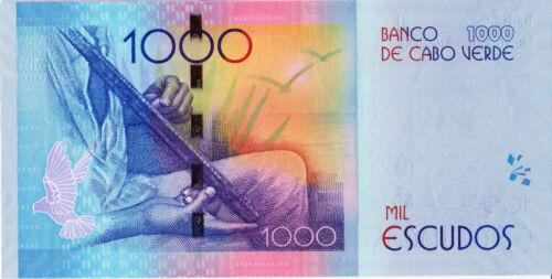CAPE VERDE 1000 Escudos from 2014 P73 UNC