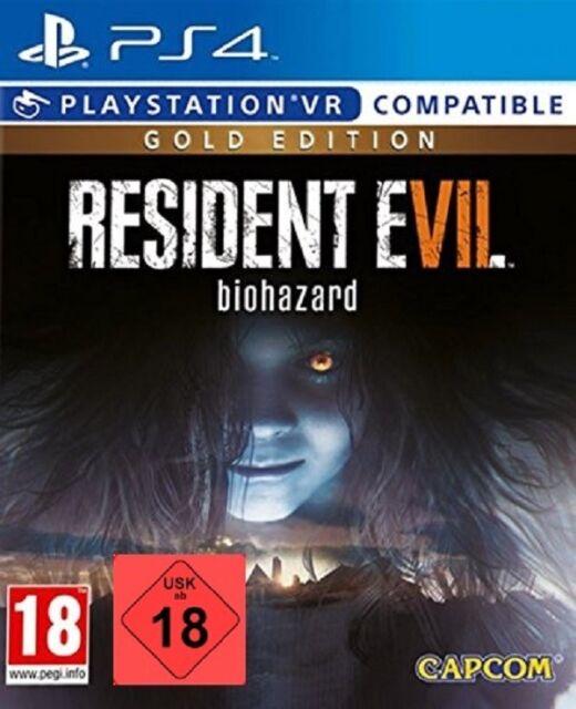 PS4 Jeu Resident Evil 7 Édition Gold Produit Neuf
