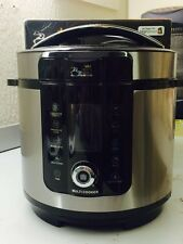 Pressure King Pro (6L) 20-in-1 Digital Multi-Cooker (Stainless Steel)