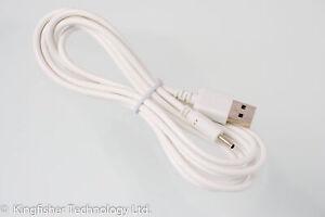 2 M Usb Blanc Chargeur Câble D'alimentation Pour Vtech Vm311/vm311-13 Moniteur Bébé-afficher Le Titre D'origine Correspondant En Couleur
