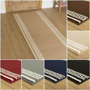 EXTRA-LONG-BEIGE-BLACK-BLUE-BROWN-GREY-RED-FLOOR-HALL-HALLWAY-RUNNER-CARPET-MAT
