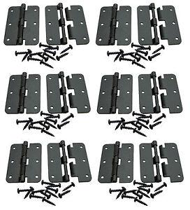 12 Pack Penn Elcom P0626K Black -  Large Take Apart Hinge With Screws