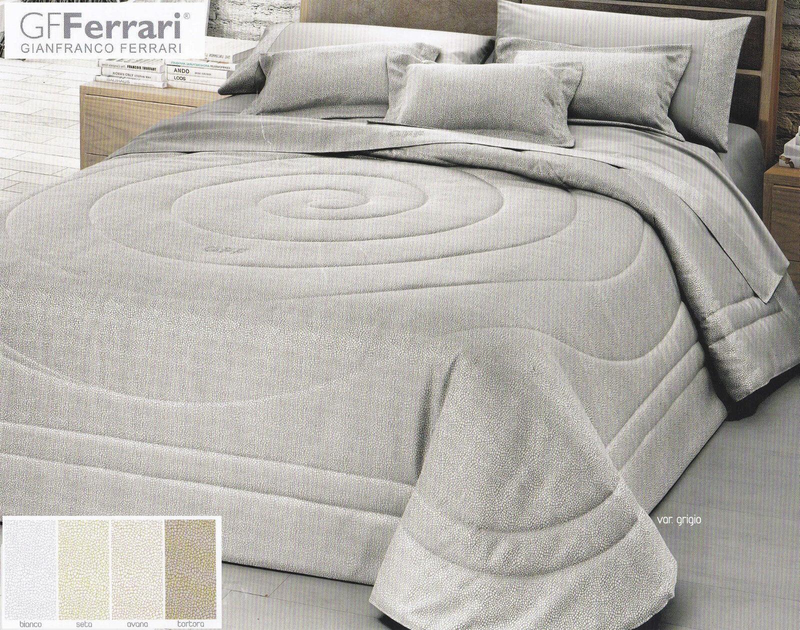Quilted bedspread, Quilt + 2 Pillowcases pillows. FERRARI CASSANDRA. Double