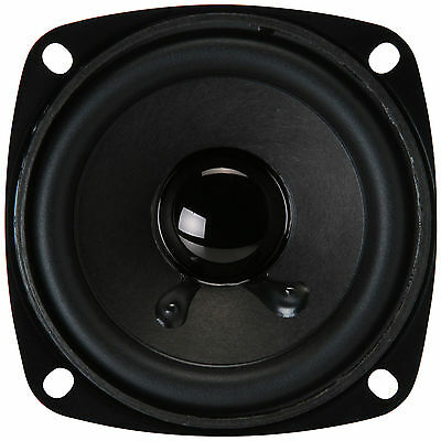 "NEW 3.5/"" Extended Range Woofer Speaker.Compact Shielded Driver.8 ohm.3-1//2/"".CS"