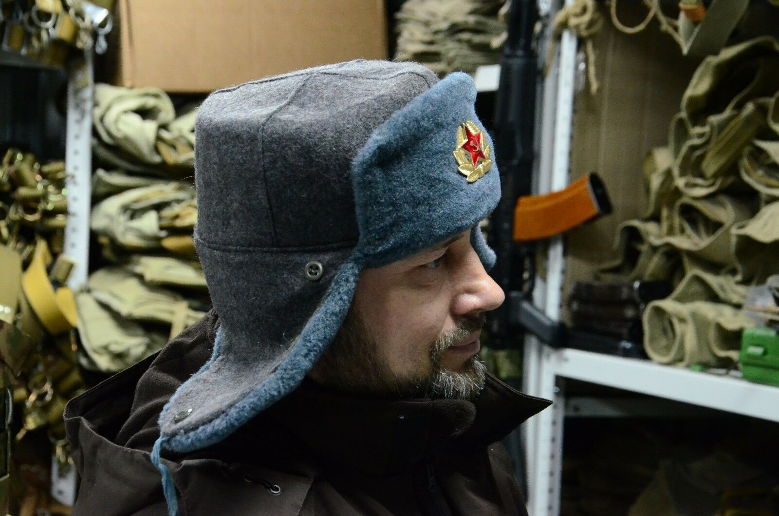 Buy Authentic Soviet and Russian Soldier Army Hat Ushanka online  68e80a6eb60