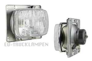 Scheinwerfer Hauptscheinwerfer H4 12//24V 204x165x125 Traktor New Holland FIAT