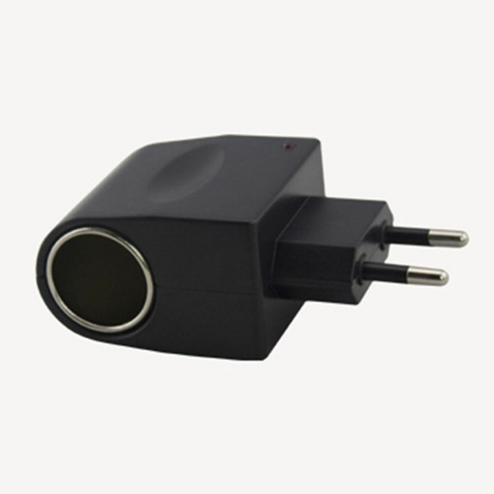 EU Plug 220V AC power to 12V DC lighter car cigarette lighter DC converter adapter IU 72d4b4