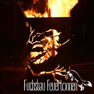 Deko Ölfass Feuerstelle Feuerkorb Feuertonne Hexe ✨