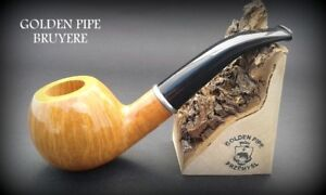 Exclusive-Wooden-TOBACCO-SMOKING-PIPE-LARGE-BRIAR-76-Natural-BRUYERE-Box
