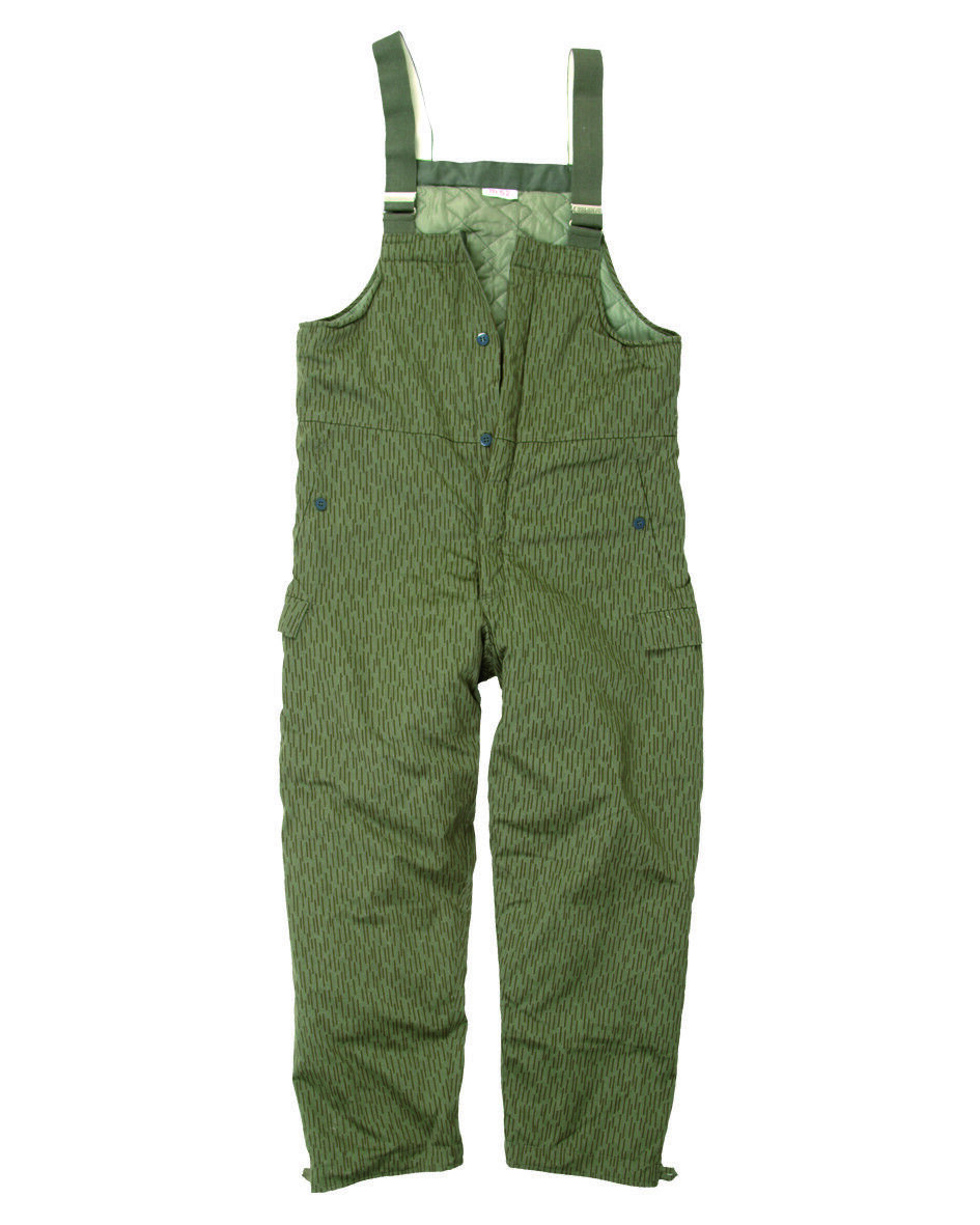 Dungarees Winter Trousers Hunting Padded Camouflage Pants a Dash Non Nva
