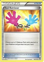 POKEMON XY FURIOUS FISTS - TOOL RETRIEVER 101/111 - TRAINER CARD