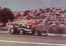 Photo GP Espagne 1977 Jarama Formule 1 F1 Clay Regazzoni Ensign Tissot Castrol