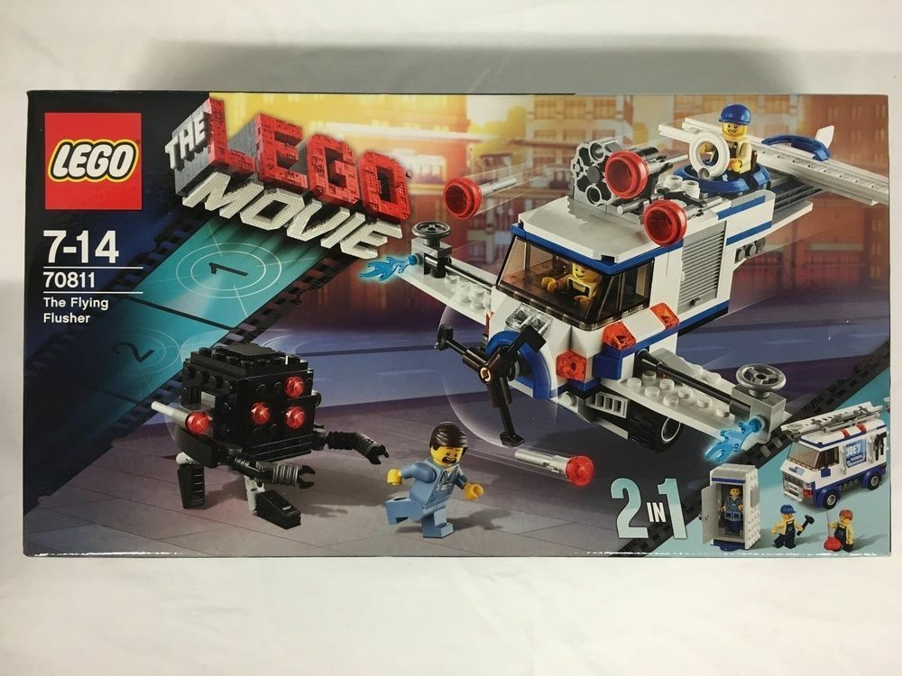 JANUARY 2014 LEGO THE MOVIE 2 IN 1 70811 THE FLYING FLUSHER GREAT GIFT!! NIB