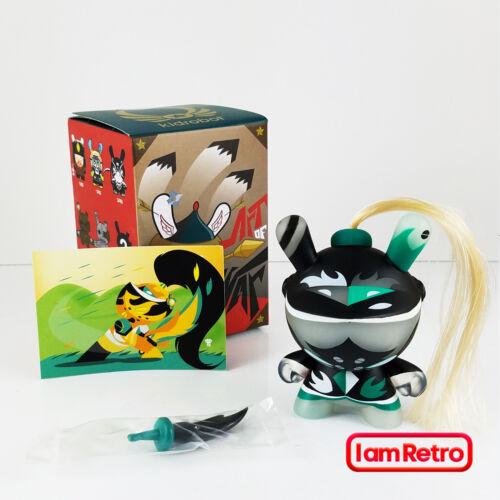 Patricio Oliver Green Art of War Series Kidrobot Brand New in Box Vinyl Figure