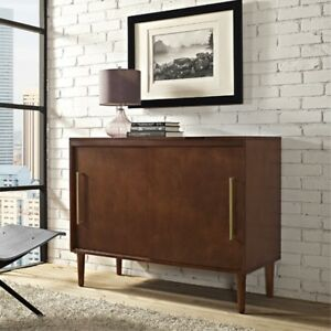 Crosley Furniture Everett Media Console   Mahogany
