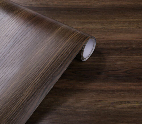 New Waterproof Self-adhesive Wallpaper Furniture Cabinet Wood Grain Sticker
