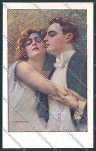 Monestier-romantic-couple-postcard-B5015-SZG