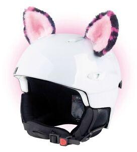 Katzenohren-Helmohren-fuer-Helm-Ohren-Helmet-Ears-Skihelm-Katzen-Katze-Pink-Rosa