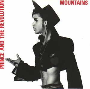 PRINCE-Mountains-PICTURE-SLEEVE-7-034-45-rpm-record-juke-box-title-strip-NEW