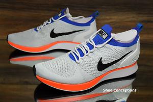 Nike air zoom mariah flyknit racer white crimson 918264-100 scarpe da uomo multi sz